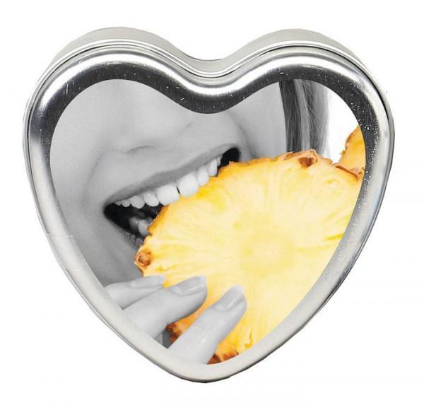 Earthly Body Tropical Edible Candle Pineapple Breeze 4oz