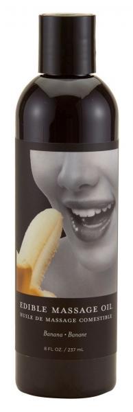 Earthly Body Edible Massage Oil Banana 8oz