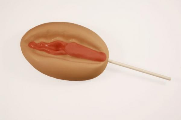Super Vagina with Stick Butterscotch Lollipop