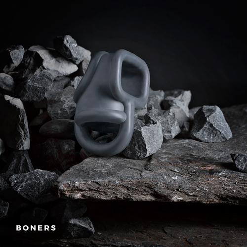 Boners Liquid Silicone Ball Splitter Gray