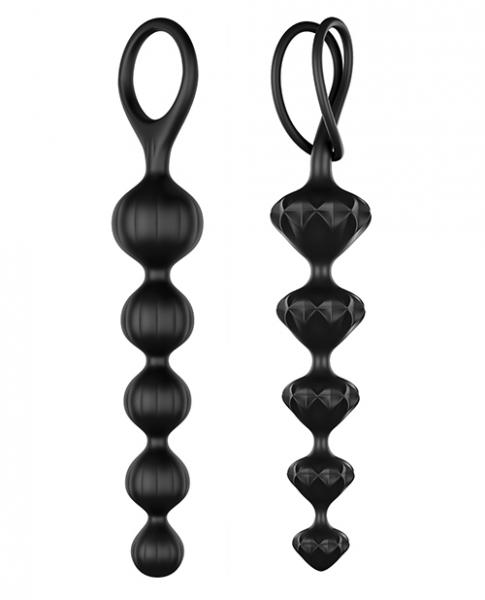 Satisfyer Anal Beads Set Of 2 Black