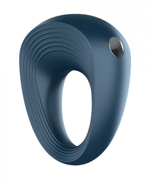 Satisfyer Rings 1 Plus Vibration Blue Vibrating Cock Ring Blue