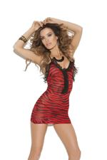 Vivace Mini Dress Red O/s