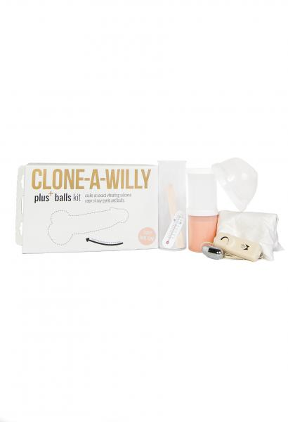Clone A Willy Plus + Balls Kit