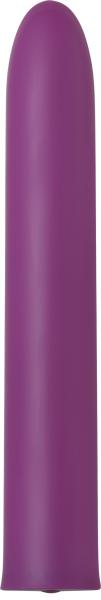 Eve's Satin Slim Rechargeable Vibe Purple with Sleeve