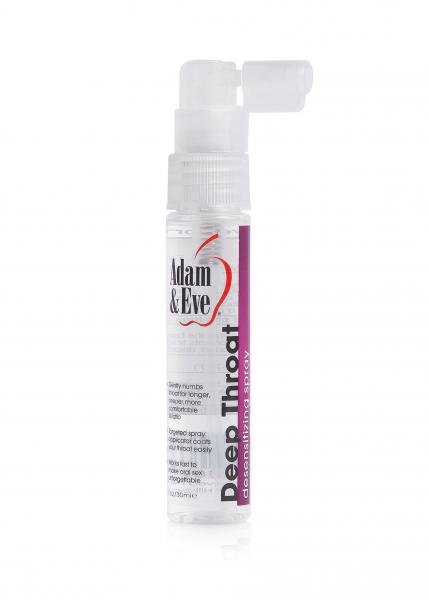 Deep Throat Desensitizing Spray Cotton Candy 1oz