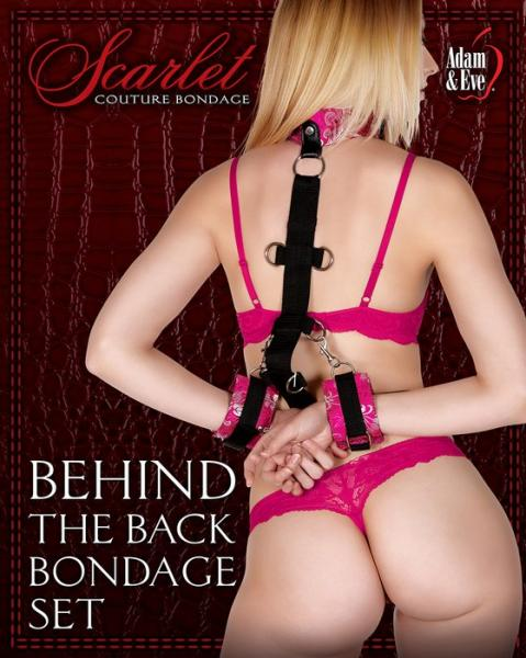 Behind The Back Strap-On Bondage Set
