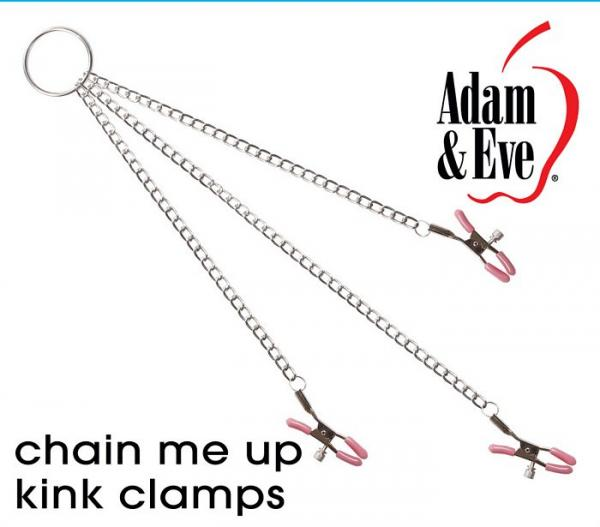 Chain Me Up Kink Clamps Nipples, Clitoral