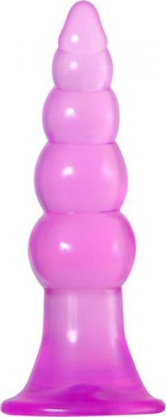 Fun Jelly Butt Plugs Pink Set of 2