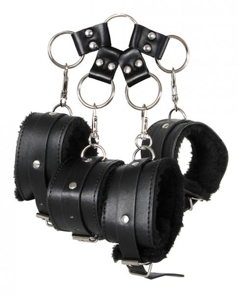 Adam & Eve's Hog Tie Kit Black