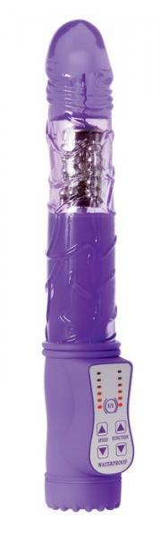 Violet Revolver Purple Rotating Vibrator