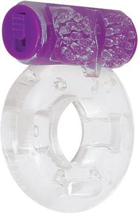 Ring True Unique Pleasure Rings Kit Clear Purple 3 Pack