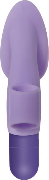 Fingerific with Powerful Bullet Vibrator Purple