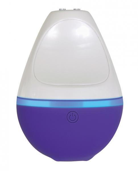 Tiny Dancer Purple White Clitoral Vibrator