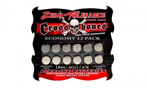 Crossbones 12 Pack Lr44 Battery