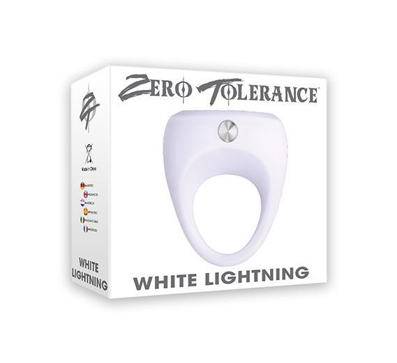 White Lightning Vibrating Cock Ring