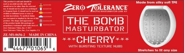 The Bomb Masturbator Cherry Bomb