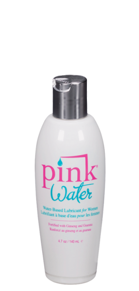 Pink Water Based Lubricant for Women 4.7oz Bottle