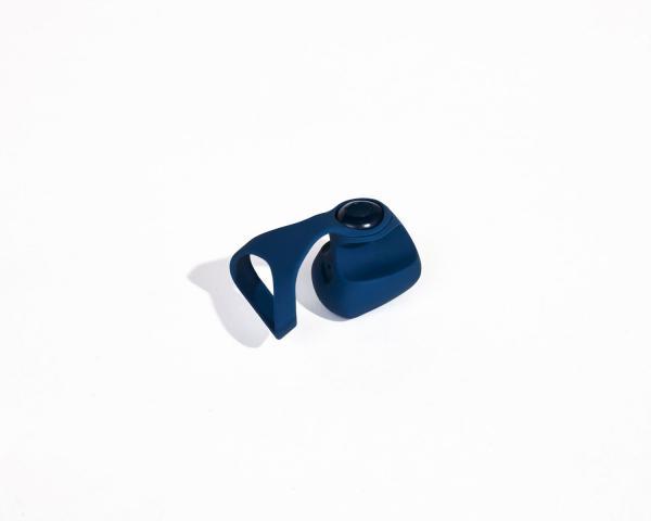 Fin Navy Blue Finger Vibrator