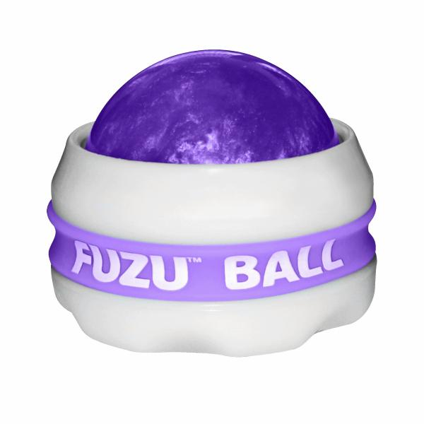Fuzu Roller Ball Neon Purple Massage Ball