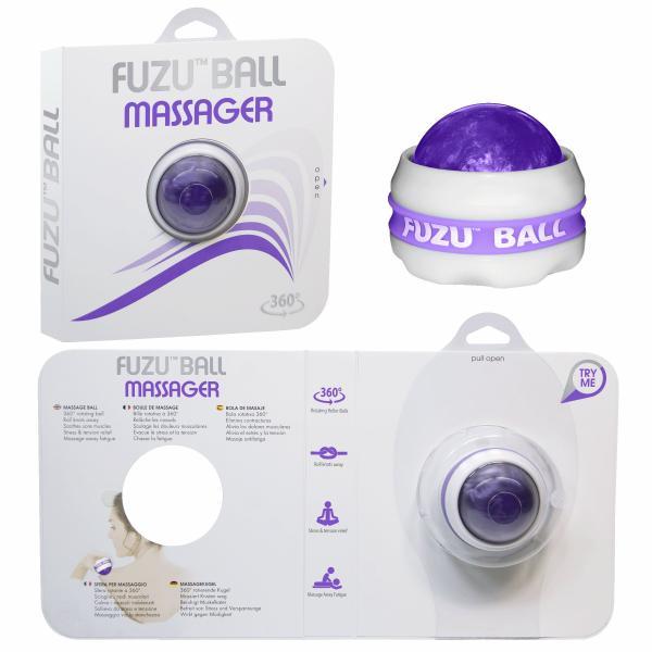 Fuzu Roller Ball Neon Purple Massage Ball