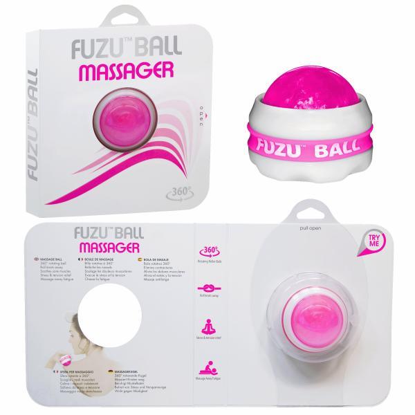 Fuzu Massage Ball Neon Pink