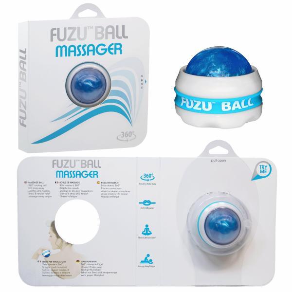 Fuzu Ball Massager Neon Blue