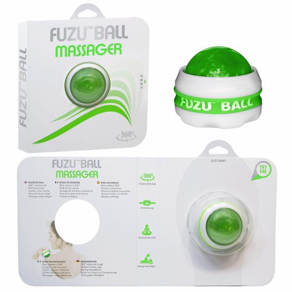 Fuzu Ball Massager Neon Green