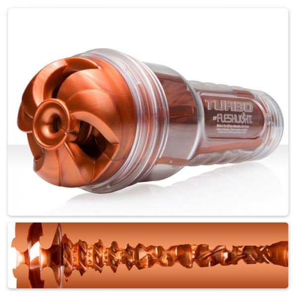Fleshlight Turbo Thrust Oral Sex Stroker Copper Orange