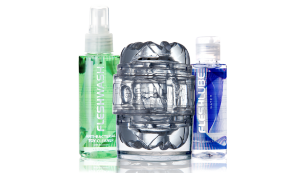 Fleshlight Quickshot Vantage Value Pack Clear