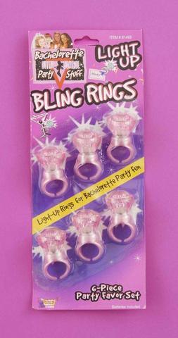 Bachelorette Light Up Rings