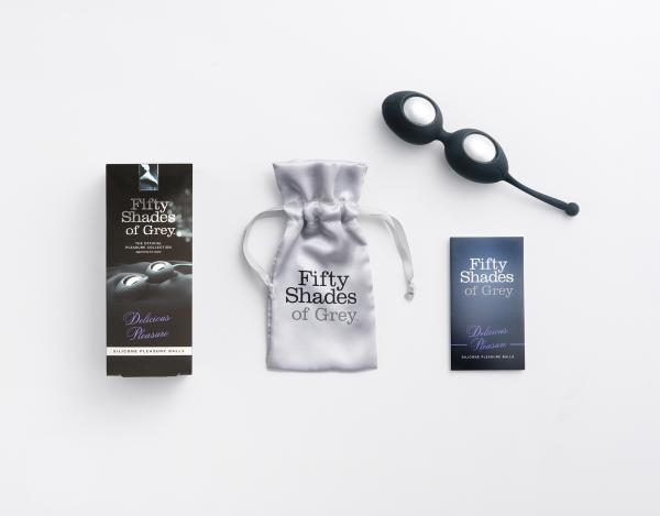 Fifty Shades of Grey Delicious Pleasure Silicone Ben Wa Balls