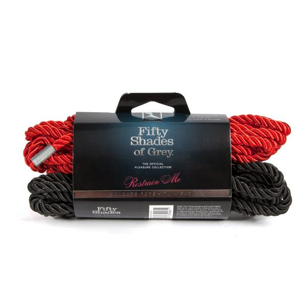 Restrain Me Bondage Rope Twin Pack
