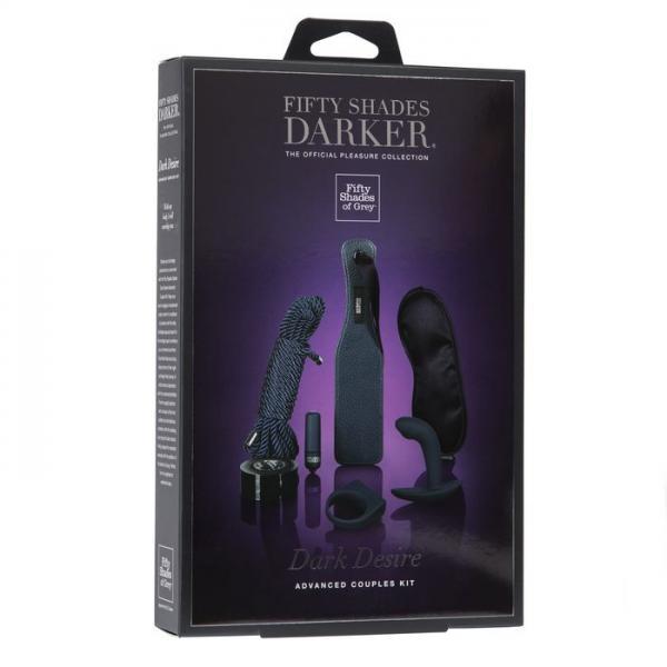Fifty Shades Darker Dark Desire Advanced Couples Kit