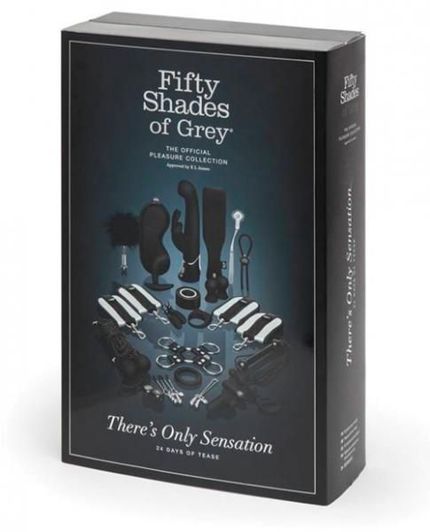 Fifty Shades There is Only Sensation 24 Days Of Tease