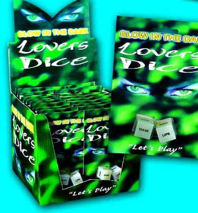Glo Lovers Dice