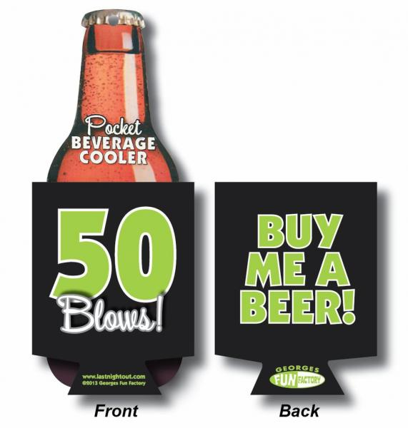 50 Blows Beer Coolie Extras GE569