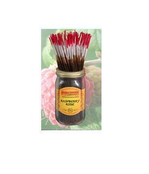 Wildberry Incense Raspberry Rose 100Pcs