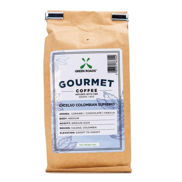 Gourmet Coffee Infused with CBD 250mg 8oz