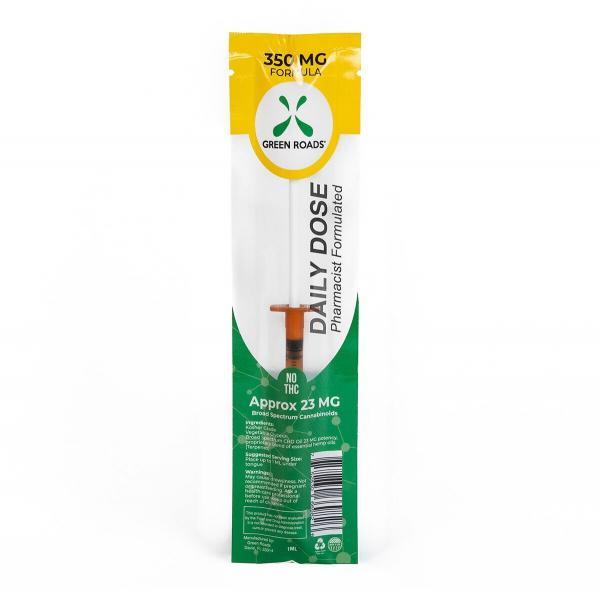CBD Oil Daily Dose Syringe 350mg Oral Use