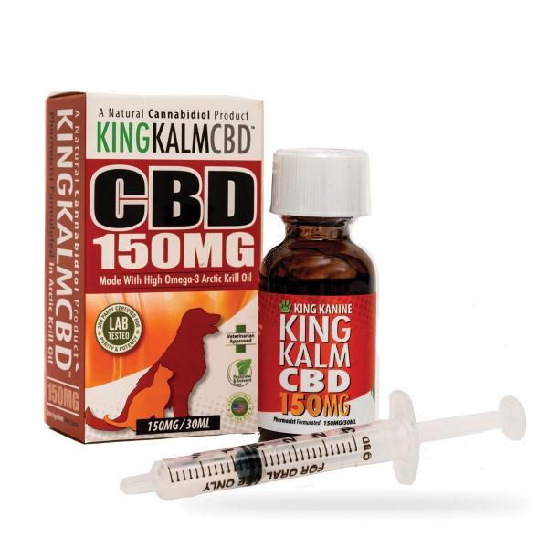 CBD Pets King Kalm 150mg Veterinarian Approved