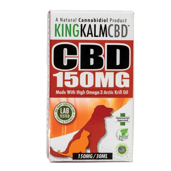 CBD Pets King Kalm 150mg Veterinarian Approved