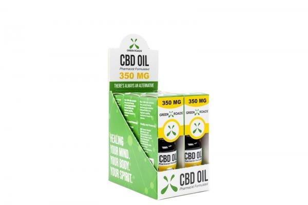 CBD Oil 350mg Sublingual + Vapeable .5oz Bottle