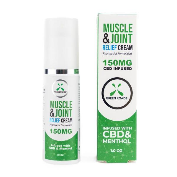 CBD Pain Cream 150mg 1oz Bottle