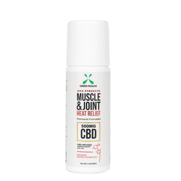 CBD Muscle & Joint Heat Relief Roll-on 500mg