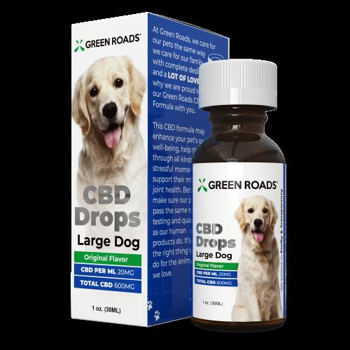 Green Roads CBD Pet Drops Large Dog Formula