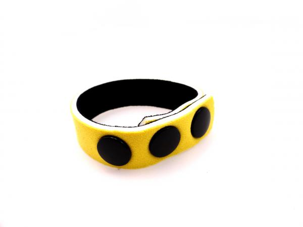 "Ring Neoprene 3 Snap 5/8"" Yellow"