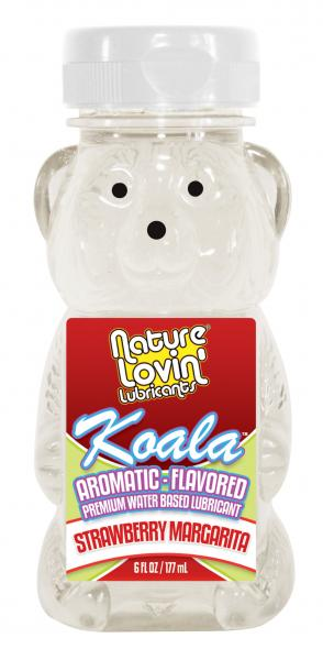 Koala Flavored Lube Strawberry Margarita 6oz