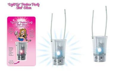 Light Up Pecker Party Shot Glass