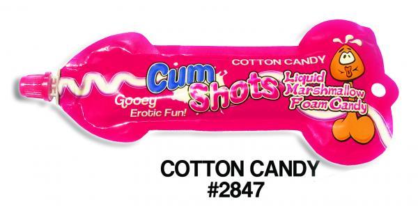 Cum Shots Marshmallow Foam Candy Cotton Candy